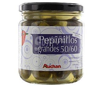 Auchan Pepinillos en vinagre 50/60 piezas extra 180 gramos