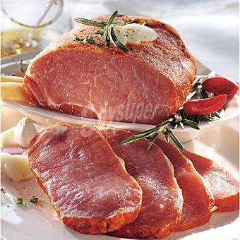 El cuarteron lomo adobado extra de cerdo en filetes peso aproximado bandeja 500 g
