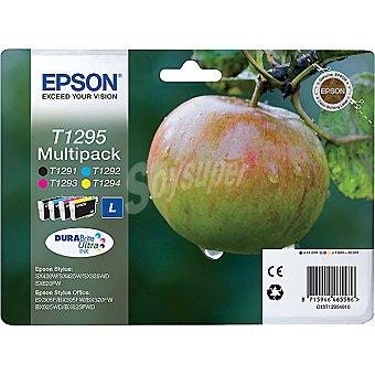 EPSON Stylus T1295 Cartucho de tinta multipack cuatricolor
