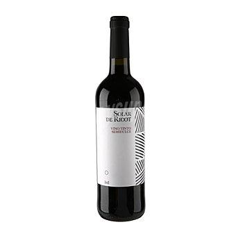 Solar de Ricot Vino tinto semi-dulce 12% vol. 75 cl