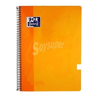 Oxford Cuaderno 80 hojas cuadricula tapa blanca