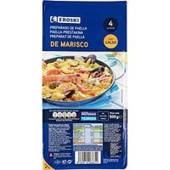 Eroski Preparado paella con caldo 500g