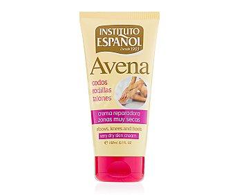 Instituto Español Crema reparadora de Avena, para la sequedad de codos, rodillas y talones 150 mililitros