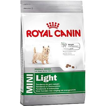 ROYAL CANIN MINI LIGHT Producto especial para perros mini en fase adulta con bajo requerimiento energético bolsa 2 kg Bolsa 2 kg