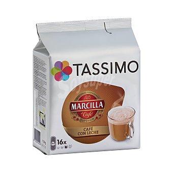 Tassimo Café con leche desnatada Saimaza Bolsa 16 cápsulas