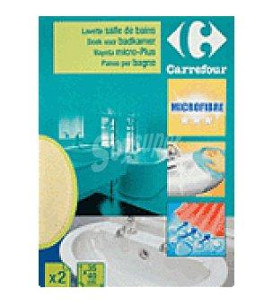 Carrefour D. bayeta microfibra plus 2 UN