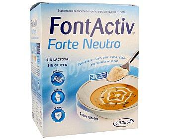 FONT ACTIV Complemento alimenticio en polvo para añadir a las comidas sin cambiar el sabor 10 unidades de 30 gramos
