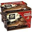 Mousse de chocolate Pack 8 x 57 g Nestlé Gold