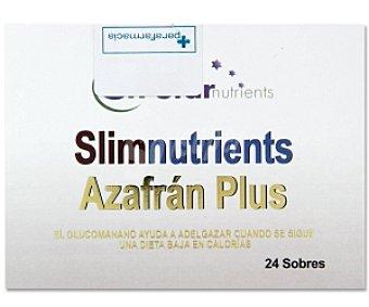 STAR NUTRIENTS Complemento alimenticio Azafrán Plus 24 Sobres de 6 Gramos