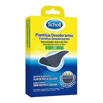 Scholl Plantilla desodorante 1 ud