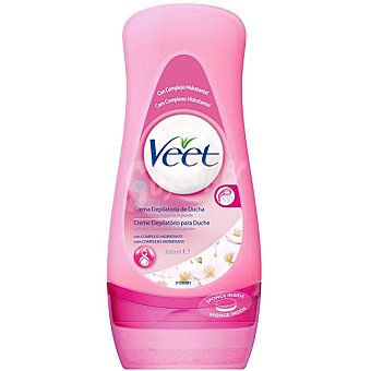 Veet Crema depilatoria para ducha piel normal Bote 300 ml