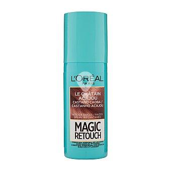 Retoca raíces magic retouch le rouge instantáneo en spray (tono castaño caoba)