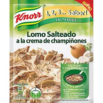 Knorr Lomo salteado a la crema de champiñones Sobre 46 g