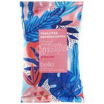 Belle Toallitas refrescantes formato bolsillo belle Paquete 10 uds