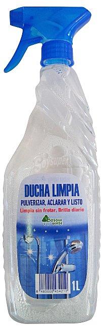 Limpiador Baño Bosque Verde:Bosque Verde Limpiador duchas spray y listo pistola Botella 1 l