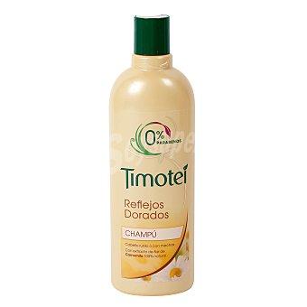 Timotei Champú de camomila Reflejos Dorados cabello rubio/castaño claro Bote de 400 ml