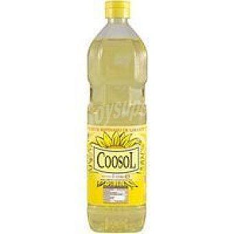 Coosol Aceite de girasol Botella 1 litro