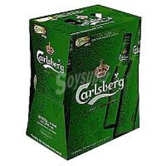 Carslber Cerveza Pack 6x33 cl