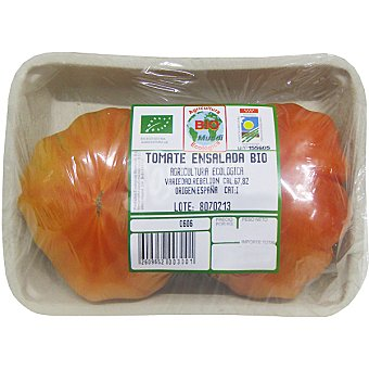 BIOMUNDI Tomate Ensalada Ecológico - Peso Aproximado Bandeja 1 kg