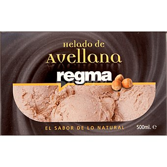 REGMA Helado de avellana Tarrina 500 ml
