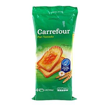Carrefour Pan tostado sin sal 720 g