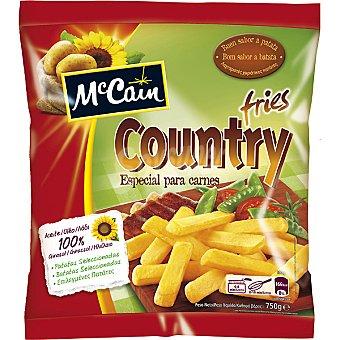 MC CAIN Country Fries Patatas congeladas especial para carnes Bolsa 750 g