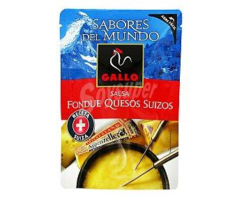 Gallo Salsa Sabores del Mundo Fondue Quesos Suizos 140g