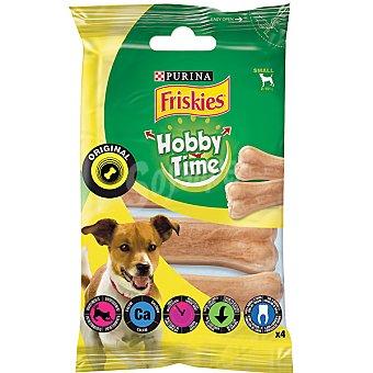 Purina Friskies Hobby Time hueso prensado para perros de raza pequeña paquete 4 unidades