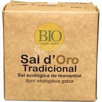 Oro Sal manantial Bio tradicional SAL D' Paquete 400 g