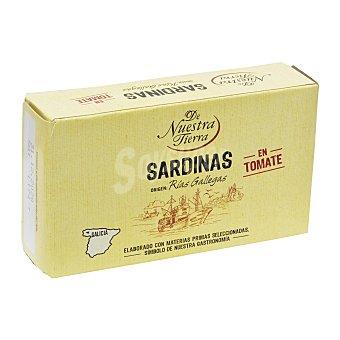 De Nuestra Tierra Sardinas en tomate 75 G 75 g