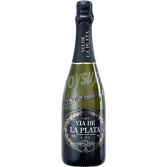 VIA DE LA PLATA Cava brut de Extremadura  botella 75 cl
