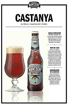 Montseny Cerveza artesana Castanya Botella 33 cl