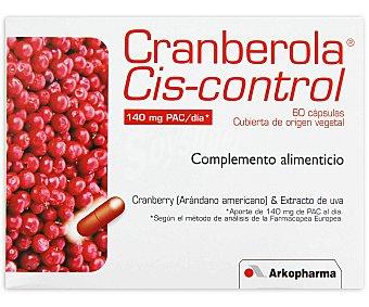 ARKOPHARMA Complemento alimenticio, Cranberola (arándano americano y extracto uva) 60 C
