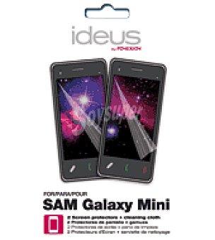 Ideus 2 unidades de protector de pantalla para samsung mini ideus 2 unidades