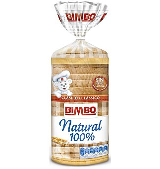 PAN MOLDE Bimbo natural 100% 550 G