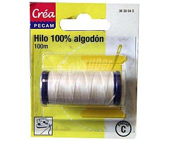 STYLE Hilo de algodón color crudo, 100 metros style