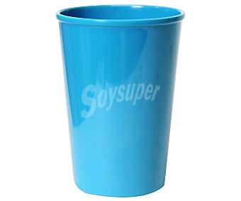 TABERSEO Vaso con capacidad de 32.5 centilitros y fabricado en melamina de color azul 1 Unidad