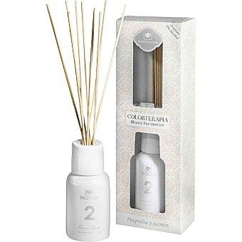Cristalinas Ambientador en varillas aromáticas en color blanco  150 ml