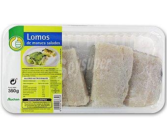 Productos Económicos Alcampo Lomos de maruca salados 350 gramos