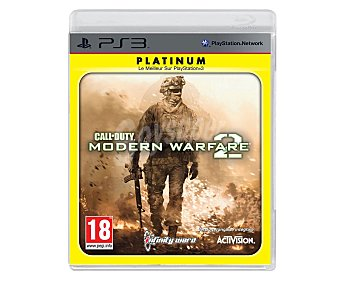 ACTIVISION Call Duty:Modern W.2 Ps3 1 Unidad