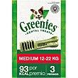 Snacks dentales para perros entre 12-22 kg Envase 3 unidades Greenies