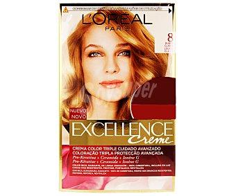 L'Oréal Tinte de color rubio claro nº 8 Pack de 2 unidades