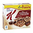 Barrita cereales biscuit moments chocolate Pack 5 u x 25 g Special K Kellogg's