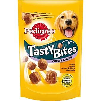 Pedigree Snacks con pollo para perro Tasty Bites Envase de 130 g