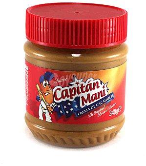 Capitán Maní Crema de cacahuete suave Frasco 340 g