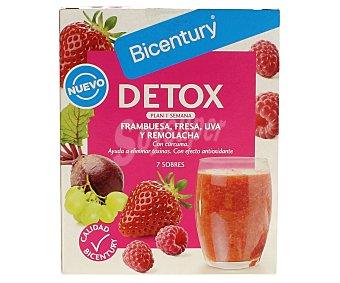 Bicentury Batidos detox rojo 7 unidades (84 g)