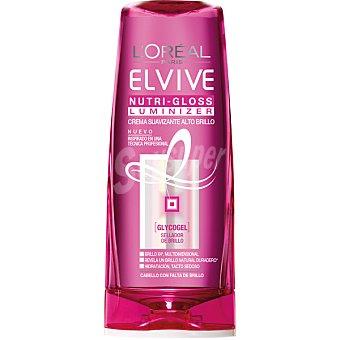 Elvive L'Oréal Paris Crema suavizante alto brillo para cabello con falta de brillo Luminizer Nuti-gloss Frasco de 250 ml