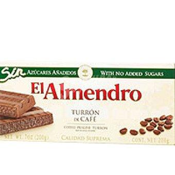 El Almendro Turrón praline-café sin azúcar Caja 200 g