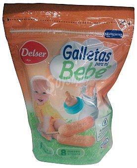 Delser Galleta para mi bebé sin gluten (a partir de 4 meses en biberón a partir de 8 meses entera) Paquete de 180 g