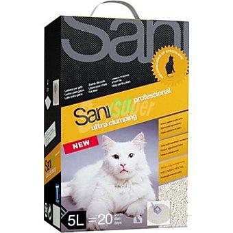 SANICAT PROFESSIONAL ULTRA Arena para gato extra Paquete 5 l